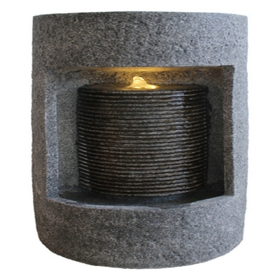 Oval Column Cylinder Water Fountains