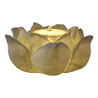 Manufacturing Lotus Flower Waterfall