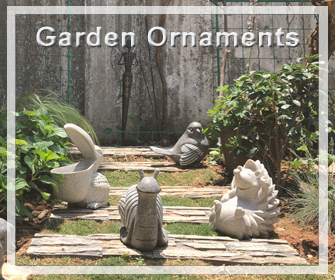 ornements de jardin